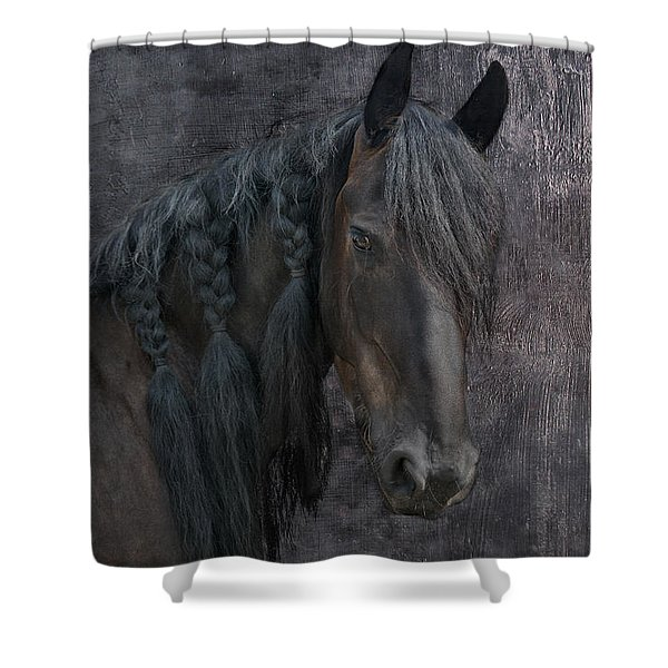 Frisian Girl Shower Curtain