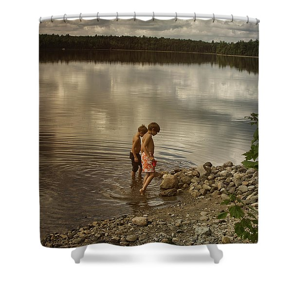Froggers Shower Curtain