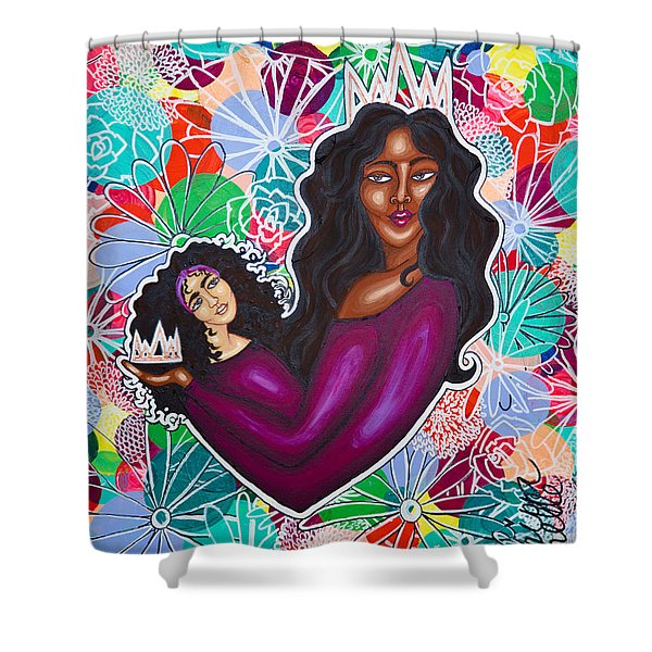 From Mom With Love Shower Curtain
