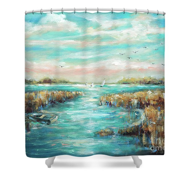 From The Bridge Shower Curtain