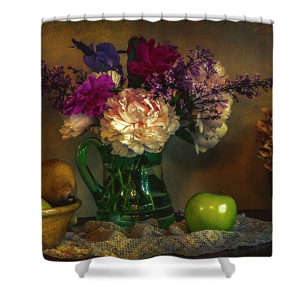 From The Garden To The Table Shower Curtain
