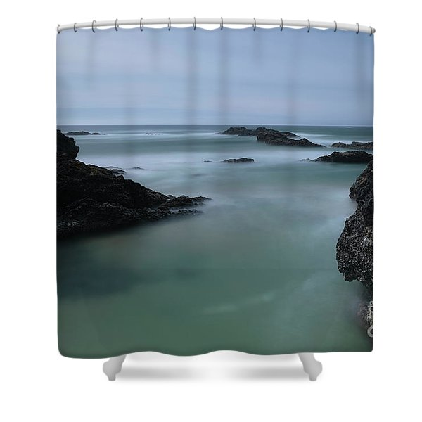 From The Top Of A Rock Shower Curtain