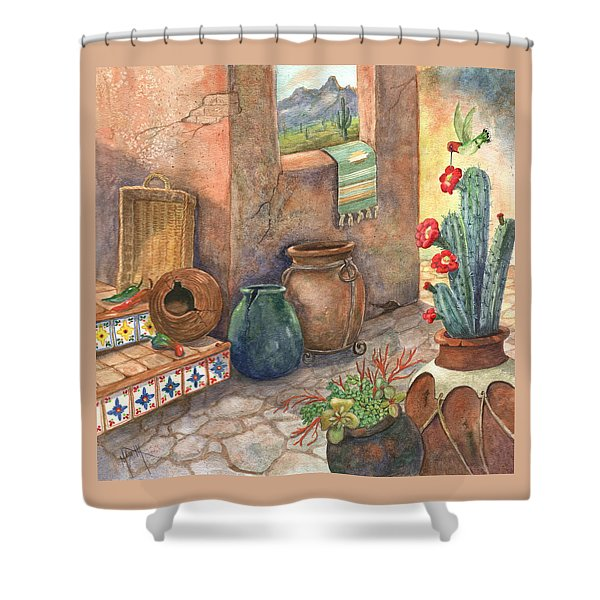 From This Earth Shower Curtain