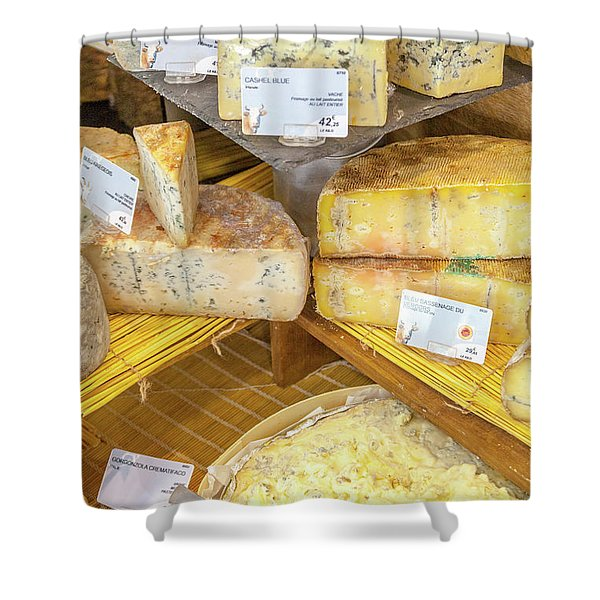 Fromage In France Shower Curtain