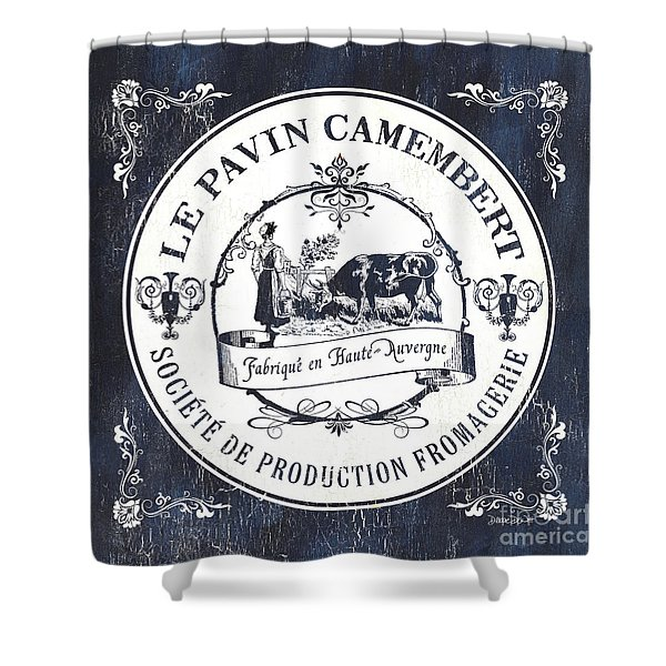 Fromage Label 1 Shower Curtain