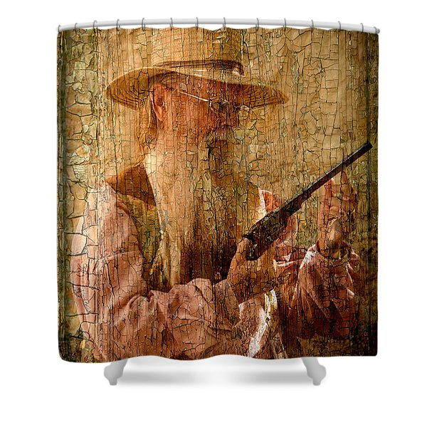 Frontiersman Shower Curtain