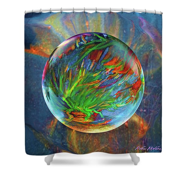 Frosted Still Shower Curtain