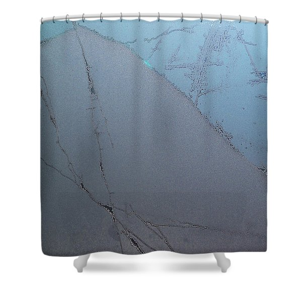 Frostwork - The Hill Shower Curtain
