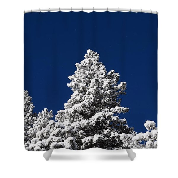Frozen Tranquility Ute Pass Cos Co Shower Curtain