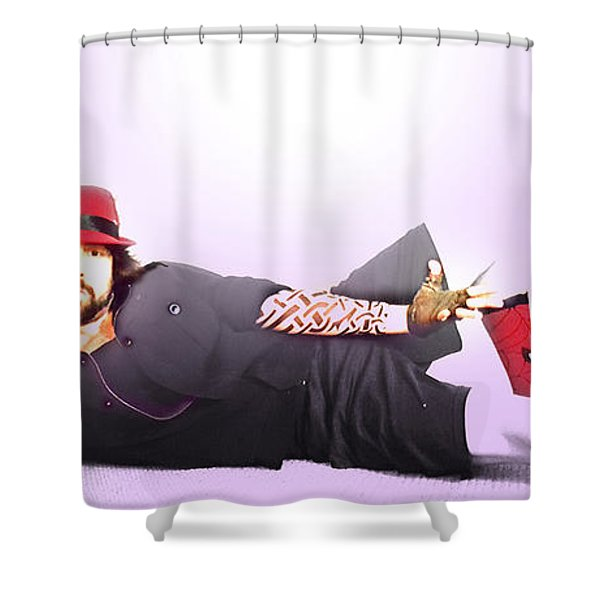Fruitcake By The Ocean Shower Curtain