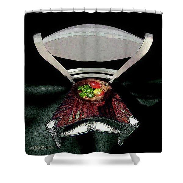 Abstract Fruit Art 9 Shower Curtain