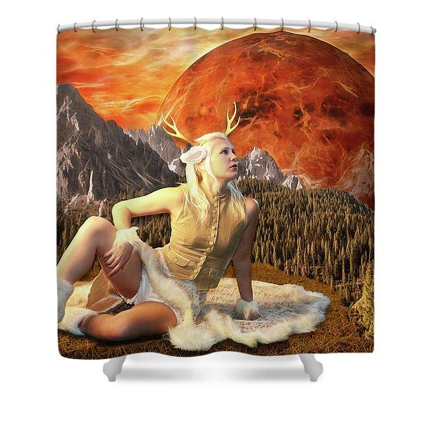 Fuan At Dawn Shower Curtain