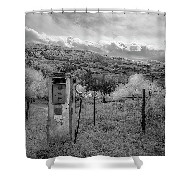 Fuel The Valley Shower Curtain