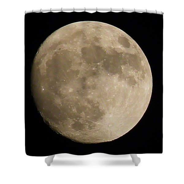 Full Moon 2016 Shower Curtain