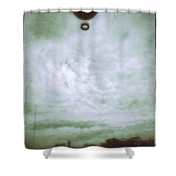 Full Of Hot Air Shower Curtain