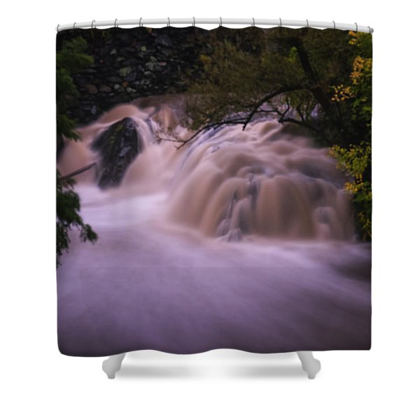 Shower Curtain featuring the photograph Full Whetstone II by Tom Singleton