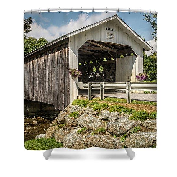 Fuller Bridge Shower Curtain