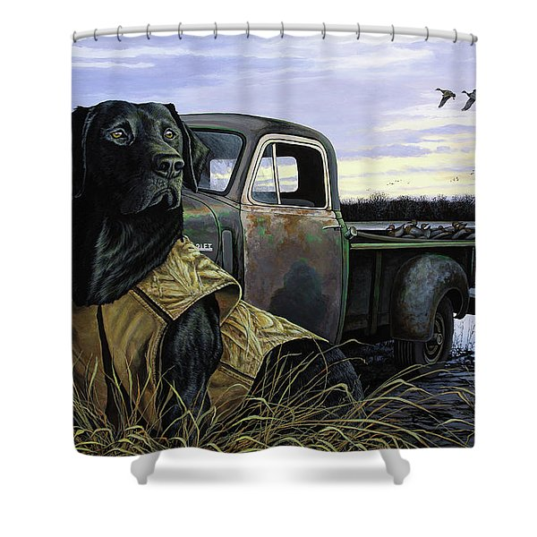Fully Vested Shower Curtain