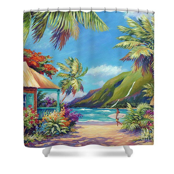 Fun Day Ahead Shower Curtain