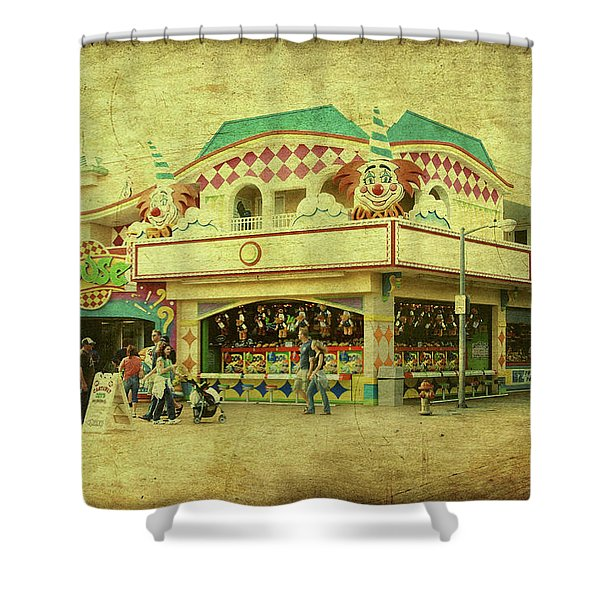 Fun House - Jersey Shore Shower Curtain