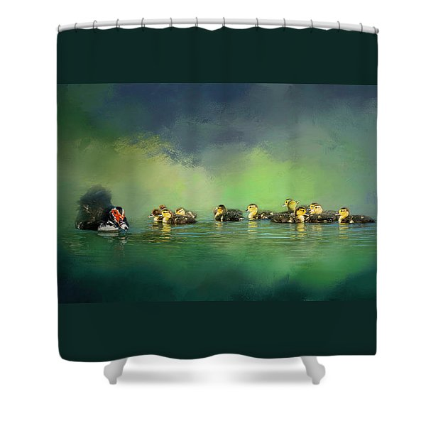 Fun On The Water Shower Curtain