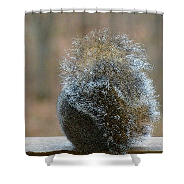 Fur Ball Shower Curtain