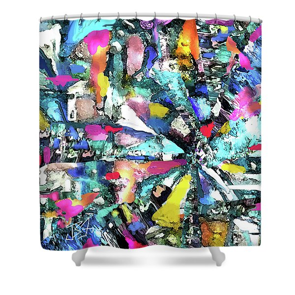 Fusion Process Shower Curtain
