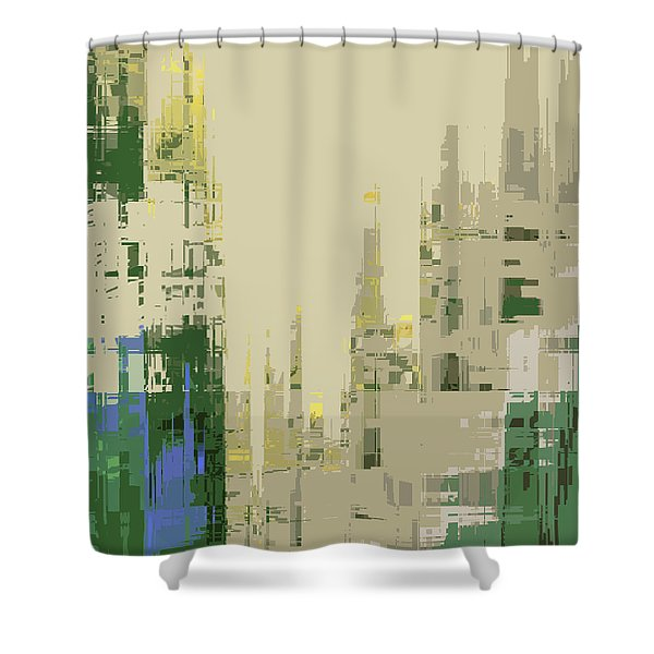 Futura Circa 66 Shower Curtain