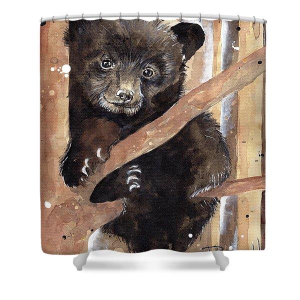Fuzzy Wuzzy Shower Curtain