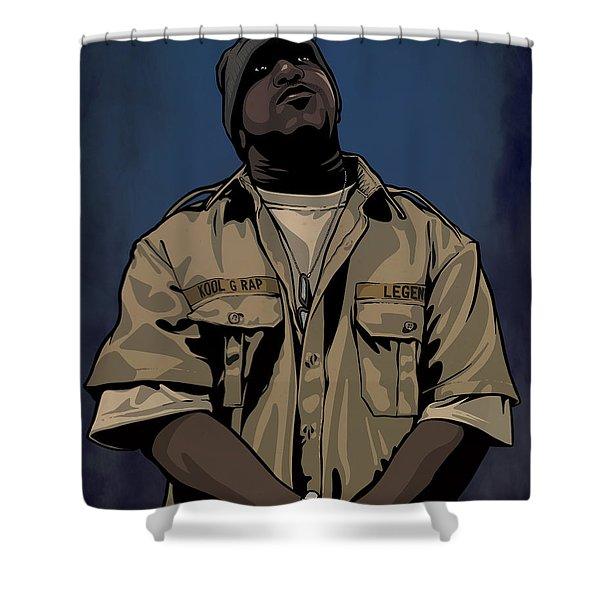 G Rap Giancana Shower Curtain