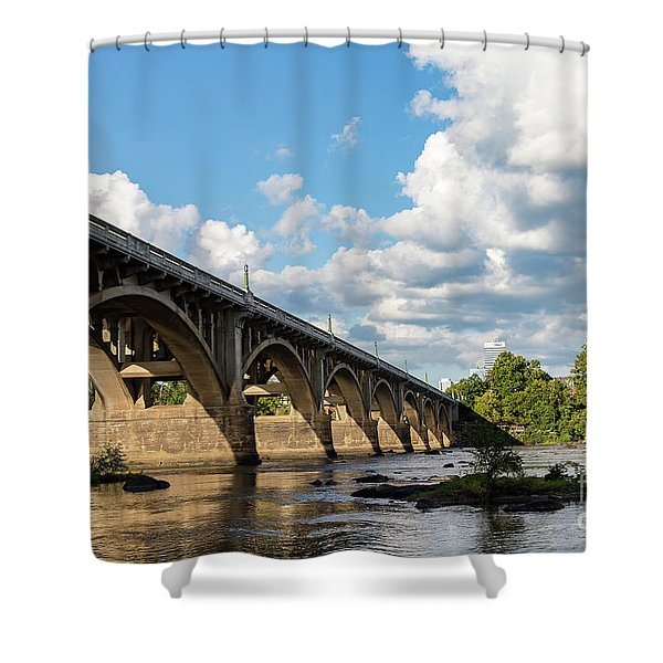 G S B-5 Shower Curtain