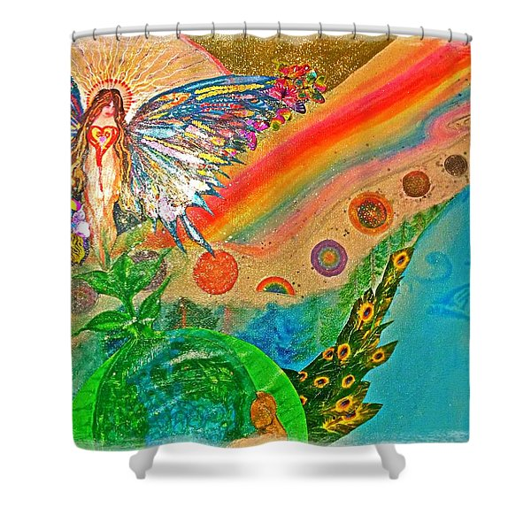 Gaia Shower Curtain
