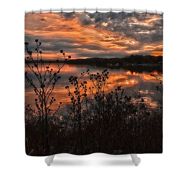Gainesville Sunset 2386w Shower Curtain