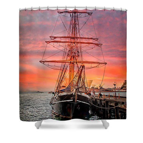 Galleano's Quest Shower Curtain