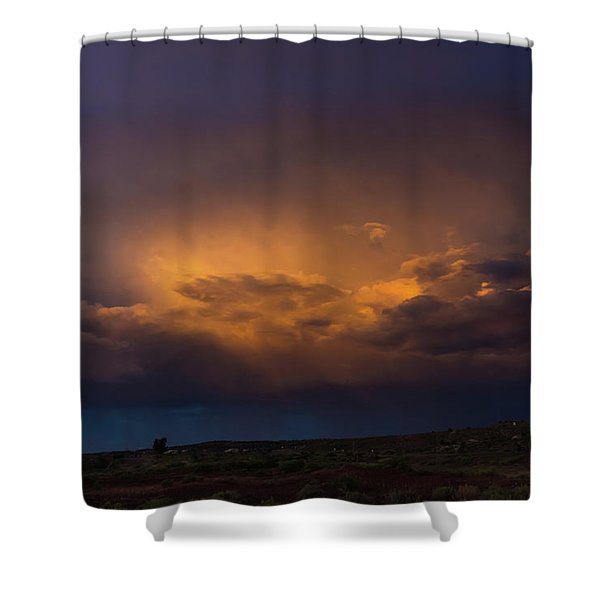 Gallup Dreaming Shower Curtain