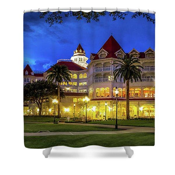 Gand Floridian At Disney Shower Curtain