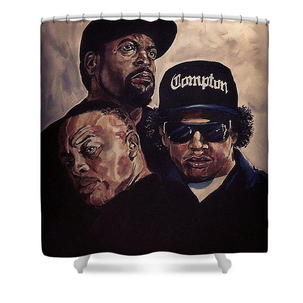 Gangsta Trinity Shower Curtain