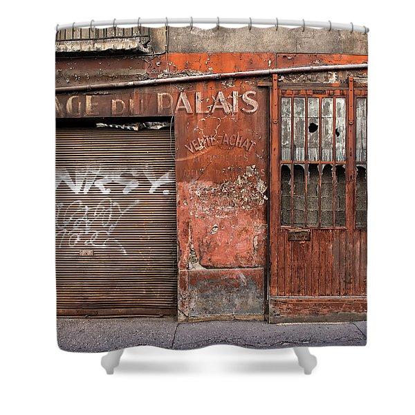 Garage Du Palais Shower Curtain