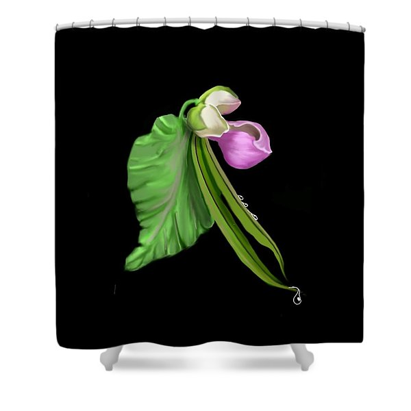 Garden Bean Shower Curtain