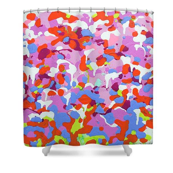 Garden Camo Shower Curtain