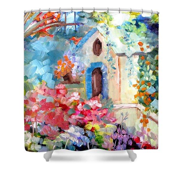 Garden Door  Shower Curtain