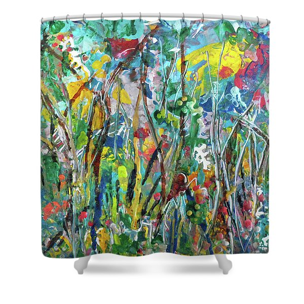 Garden Flourish Shower Curtain