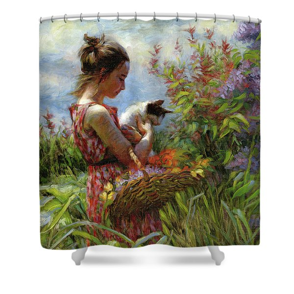 Garden Gatherings Shower Curtain