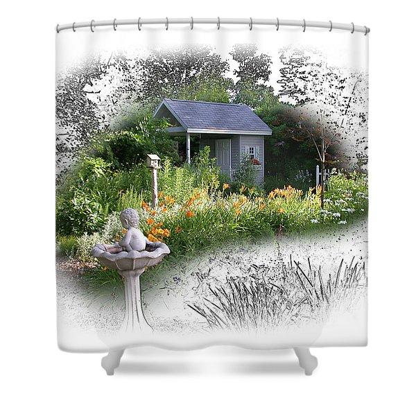 Garden House Shower Curtain