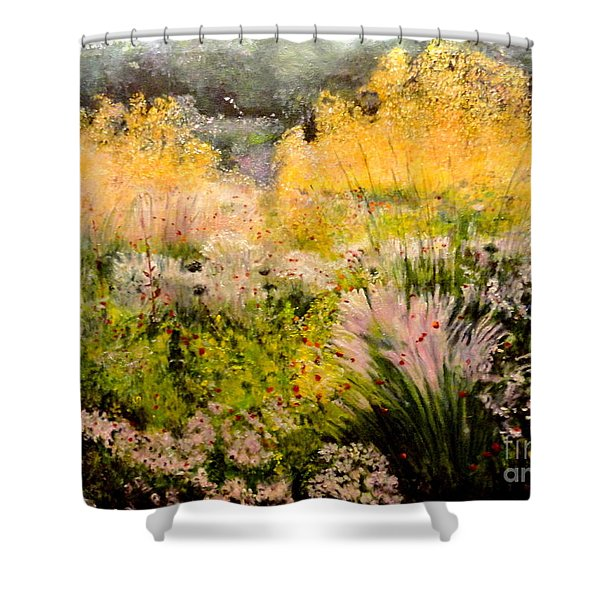 Garden In Northern Light Shower Curtain