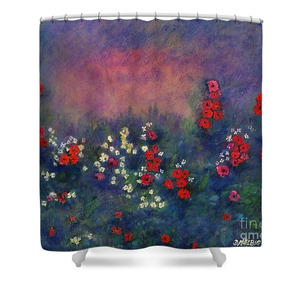 Garden Of Immortality Shower Curtain