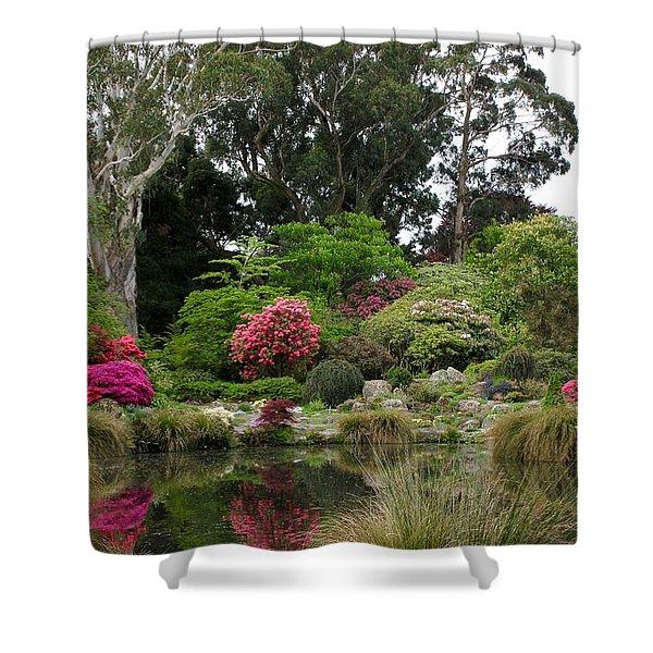 Garden Reflection Shower Curtain