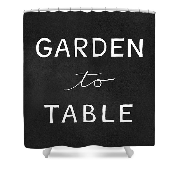 Garden To Table- Art By Linda Woods Shower Curtain