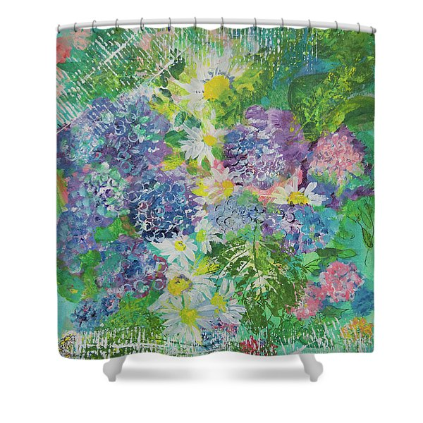 Garden View Shower Curtain