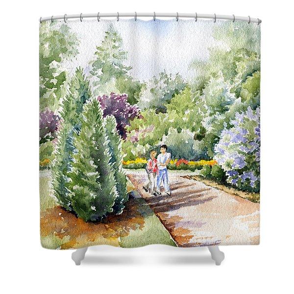 Garden Walk Shower Curtain